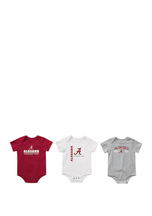 Colosseum Athletics Baby Alabama Crimson Tide Runt Bodysuit