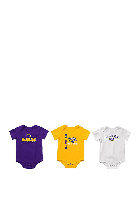 Baby LSU Tigers Runt Bodysuit Set