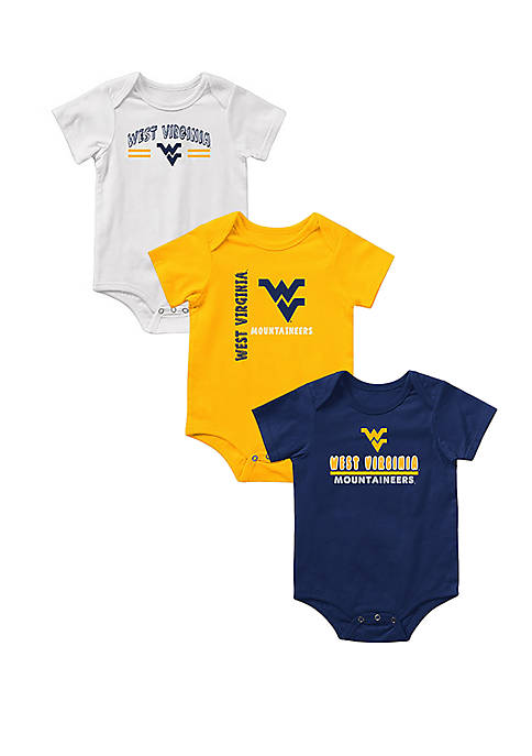 Baby West Virginia Mountaineers Runt Bodysuit Set