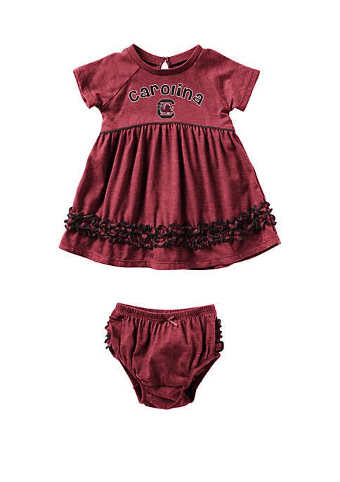 Baby Girls NCAA South Carolina Gamecocks Plucky Dress Set