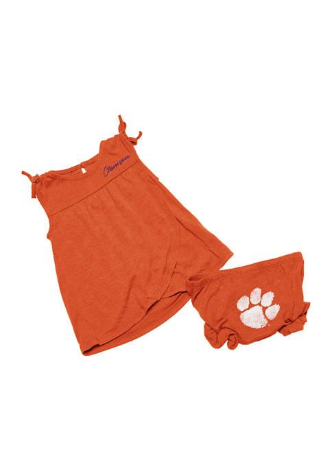 Colosseum Athletics Infant Girls NCAA Clemson Tigers Wonka