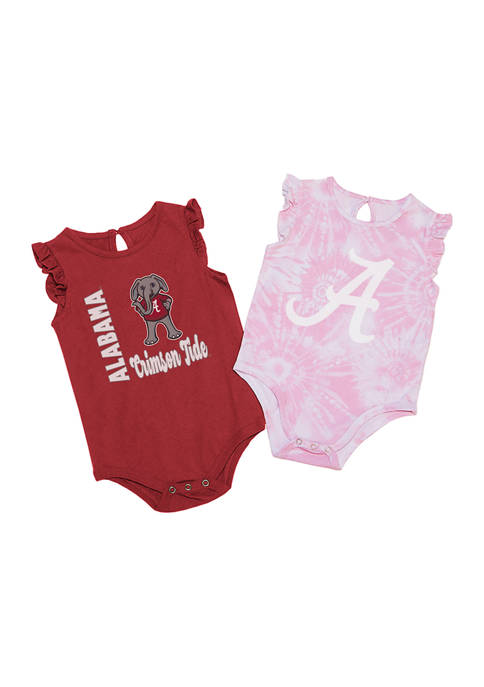 Colosseum Athletics NCAA Alabama Crimson Tide Baby Girls