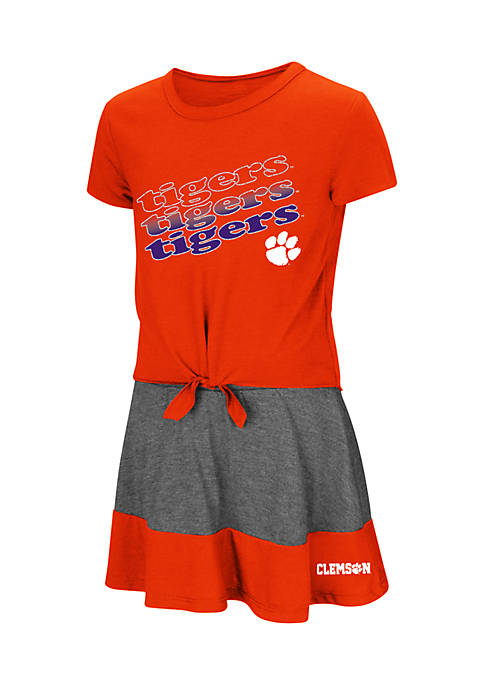 Colosseum Athletics Toddler Girls Clemson Tigers Forever Tee