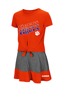 Toddler Girls Clemson Tigers Forever Tee Skort Set