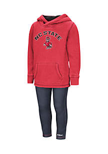 Colosseum Athletics Toddler Girls NC State Wolfpack Set
