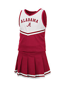Colosseum Athletics Toddler Girls Alabama Crimson Tide Cheer Set