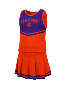 Colosseum Athletics Toddler Girls Clemson Tigers Cheer Set
