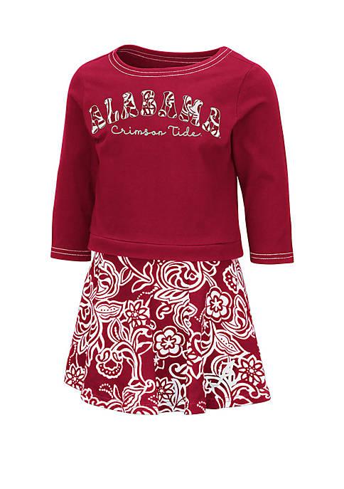Colosseum Athletics Toddler Girls Alabama Crimson Tide Skort