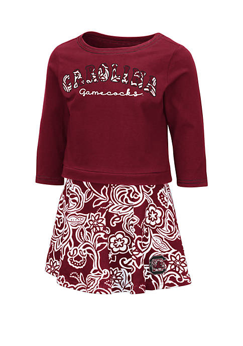 Baby Girls South Carolina Gamecocks Top and Skirt Set