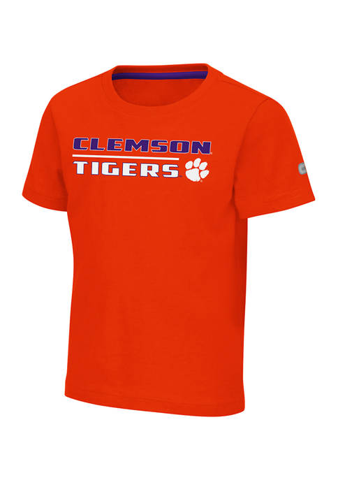 Colosseum Athletics Toddler NCAA Clemson Tigers Rubberized Print