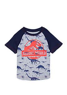 Jurassic World Toddler Boys Short Sleeve Raglan T-Shirt
