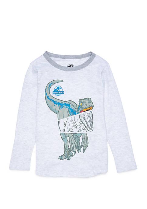 Jurassic World Toddler Boys Long Sleeve Graphic T-Shirt