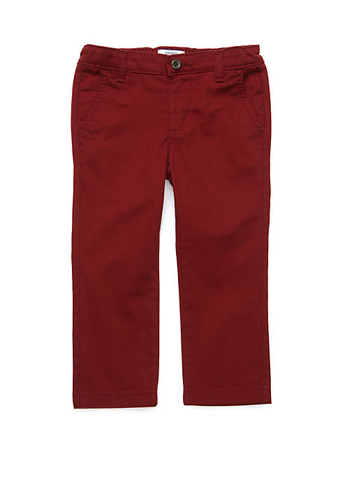 Toddler Boys Twill Pants