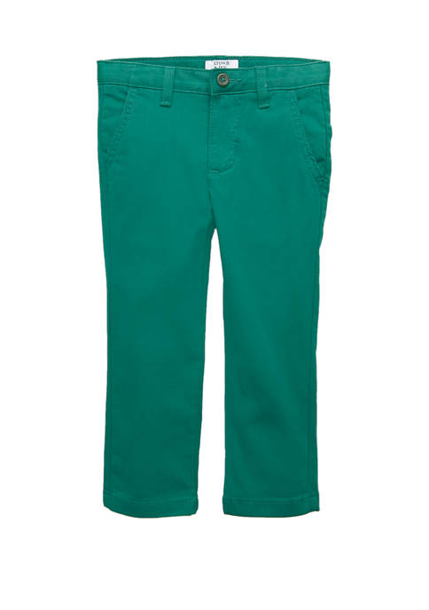 Crown & Ivy™ Toddler Boys Twill Pants