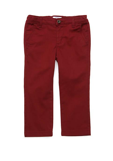 Crown & Ivy™ Boys 4-7 Twill Pants