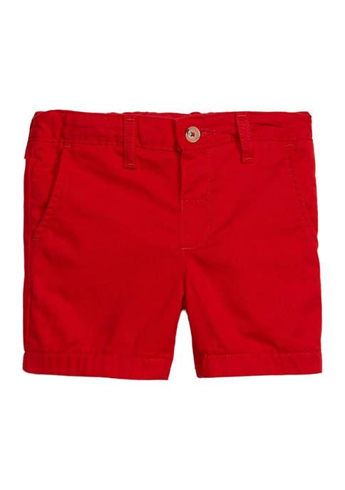 Crown & Ivy™ Toddler Boys Flat Front Twill
