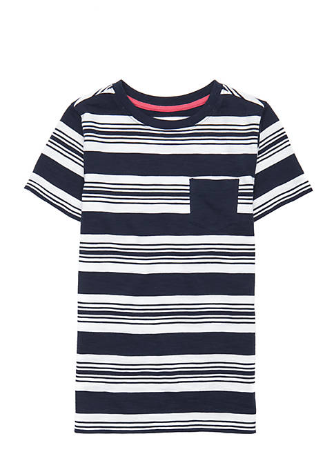 Crown & Ivy™ Boys 2-7 Short Sleeve Pocket
