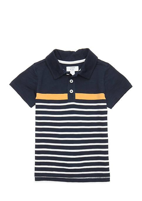 Crown & Ivy™ Toddler Boys 2-4 Short Sleeve