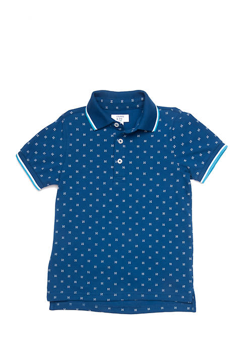 Crown & Ivy™ Boys 4-7 Short Sleeve Polo