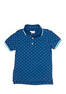 Crown & Ivy™ Boys 4-7 Short Sleeve Polo Tee