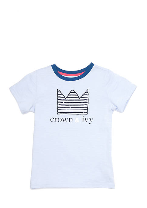Crown & Ivy™ Boys 4-7 Graphic Tee