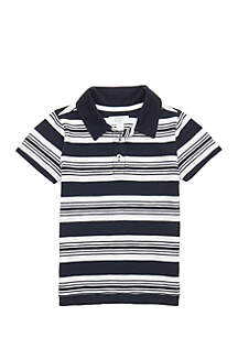 Toddler Boys Short Sleeve Polo Shirt