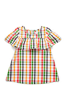 Toddler Yarn Dyed Dress