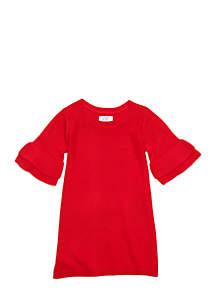 Crown & Ivy™ Toddler Girls Bell Sweater Dress
