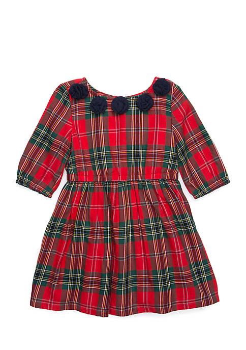 Crown & Ivy™ Short Sleeve A-Line Dress