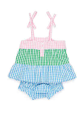 f5f1dd328820 Crown   Ivy™ Baby Girls 3 Tier Dress ...