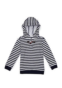 Crown & Ivy™ Toddler Boys Pullover Hoodie with Toggle