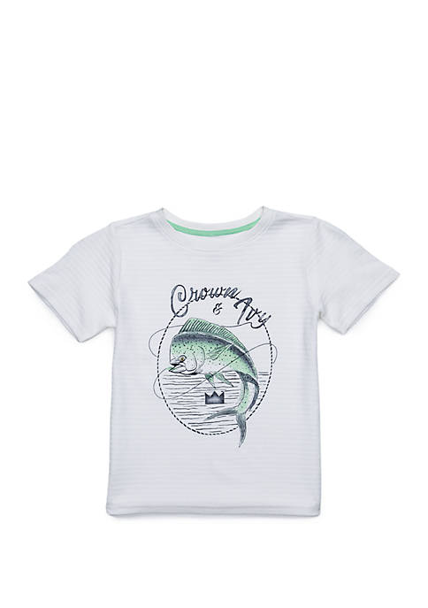Toddler Boys Short Sleeve Fashion Tee