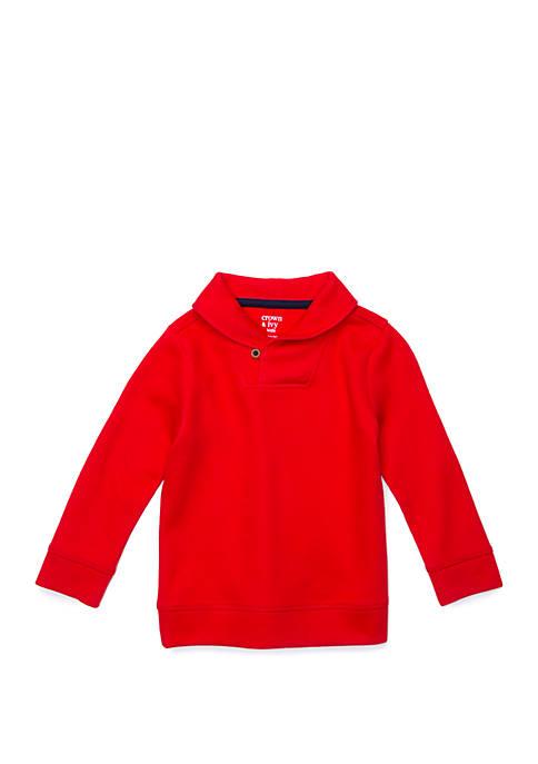 Crown & Ivy™ Toddler Boys Long Sleeve Shawl