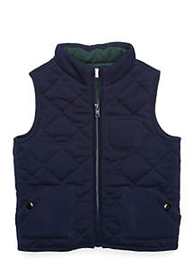 Boys 4-8 Quilted Vest