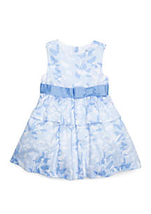 Crown & Ivy™ Toddler Girls Peplum Party Dress