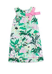Crown & Ivy™ Toddler Girls Pieced A-Line Dress