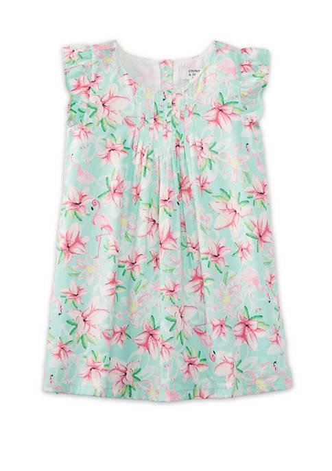 Crown & Ivy™ Toddler Girls Pintuck Dress