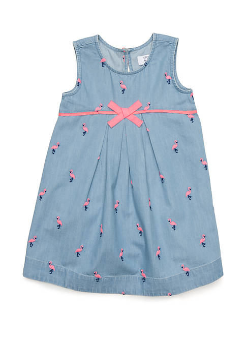 Crown & Ivy™ Toddler Girls Pleated A-Line Dress