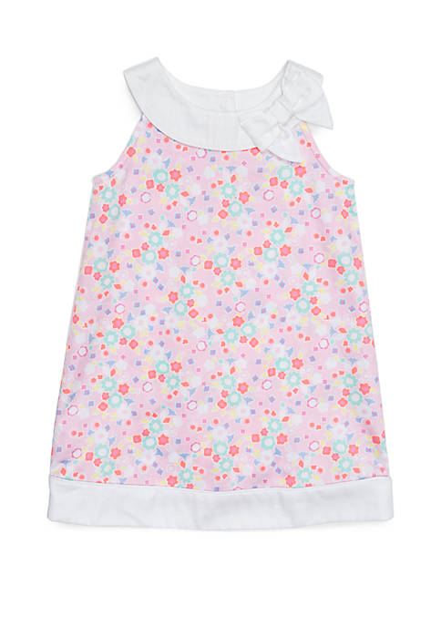 Toddler Girls Pieced A-Line Dress