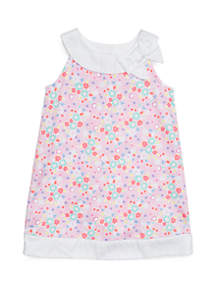 Crown & Ivy™ Toddler Girls Pieced A-Line Dress