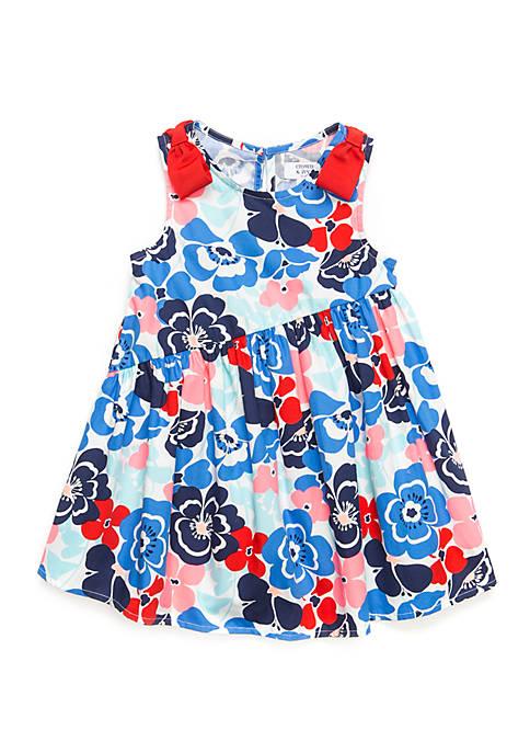Crown & Ivy™ Toddler Girls Asymmetrical Hem Dress