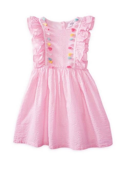 Crown & Ivy™ Toddler Girls Ruffle Dress
