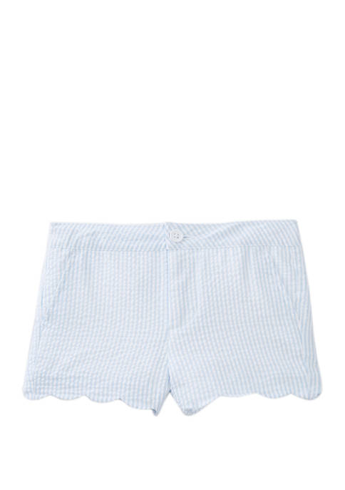 Crown & Ivy™ Toddler Girls Scallop Shorts