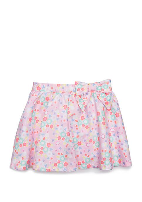 Toddler Girls Tulle Skater Skirt