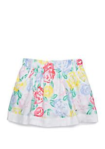 Crown & Ivy™ Toddler Girls Pocket Skirt