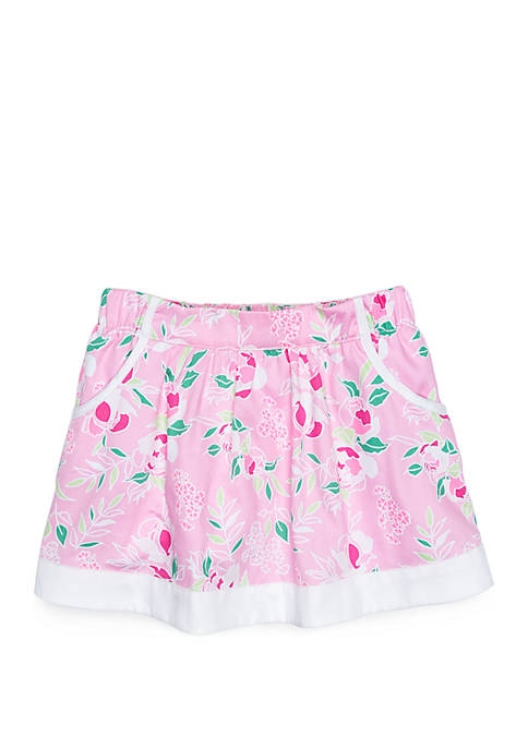 Toddler Girls Skirt with Pockets