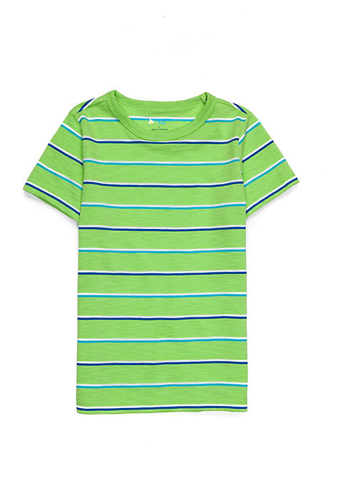 Lightning Bug Striped Tee Toddler Boys