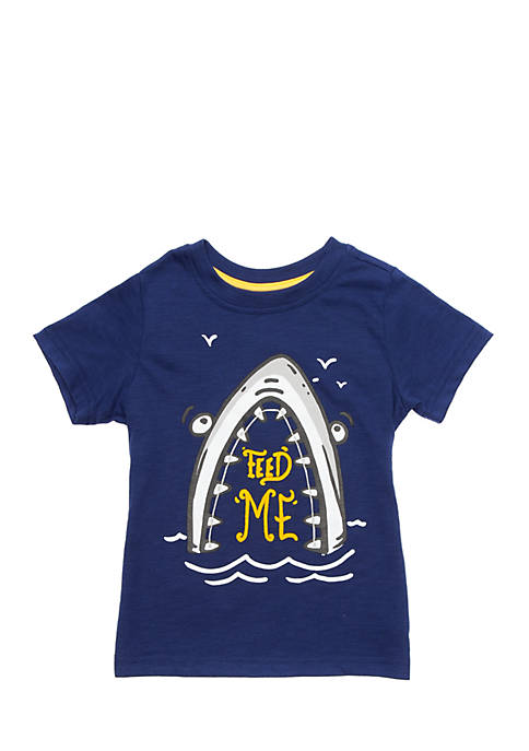 Lightning Bug Boys 4-10 Graphic Tee Toddler Boys