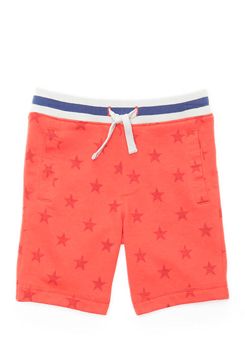 Lightning Bug Toddler Boys Knit Shorts