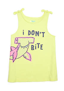 Graphic Tank Top Toddler Girls